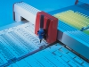 Beschriftung von Kennzeichnungsschildern mit dem murrplastik ACS-Kennzeichnungs-System